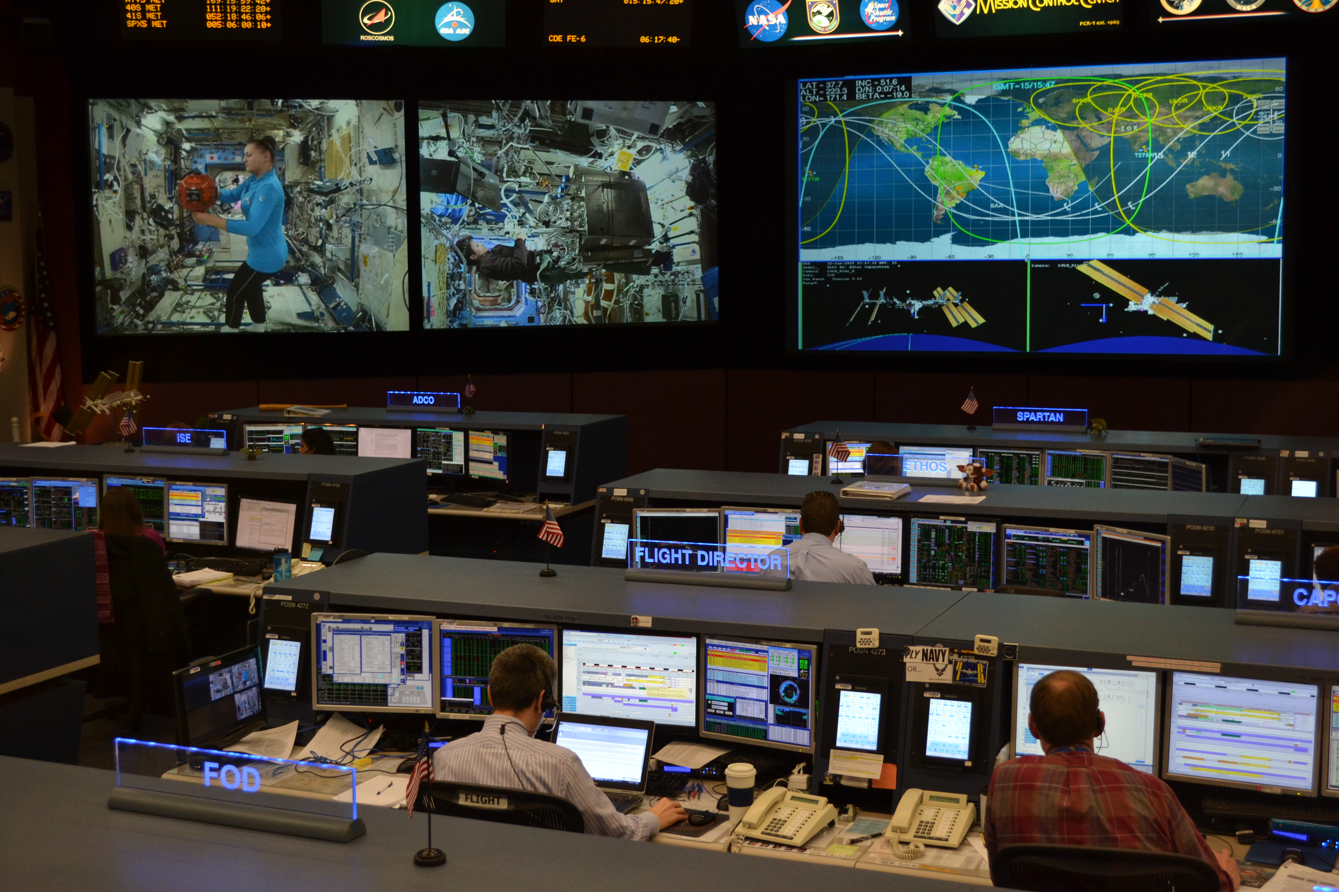 NASA Mission Control for Space Station Houston | Jason's ...
